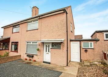 Thumbnail 2 bed semi-detached house for sale in Sunnymeade, Carlisle