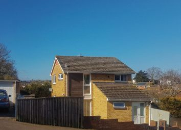 Thumbnail 3 bed detached house for sale in Quarry Park Road, Exeter
