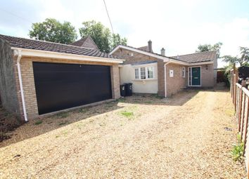 Thumbnail 4 bed detached bungalow for sale in Sutton Road, Witchford, Ely