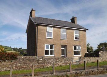 Thumbnail 3 bed detached house for sale in Pentrefelin, Gwynedd