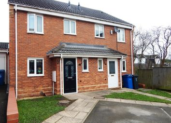 Thumbnail 2 bed semi-detached house for sale in St. Johns Close, Chase Terrace, Burntwood