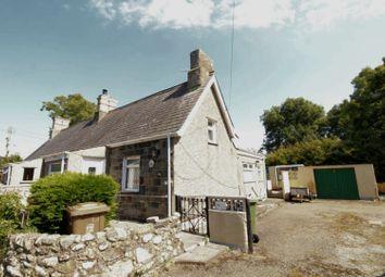 Thumbnail 3 bed semi-detached bungalow for sale in Bethel, Caernarfon