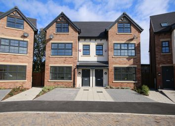 Thumbnail 4 bed semi-detached house for sale in Plot 7, Birkdale Place, 39 Warren Court