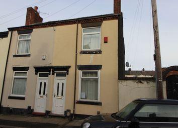 Thumbnail 2 bedroom terraced house for sale in Edison Street, Stoke-On-Trent
