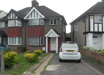 Thumbnail 3 bed semi-detached house to rent in Tudor Court South, Wembley, Greater London