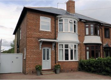 Thumbnail 4 bed semi-detached house for sale in Salutation Road, Darlington
