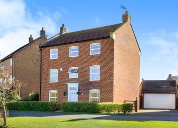 Thumbnail 5 bedroom detached house for sale in East Water Crescent, Hampton Vale, Peterborough