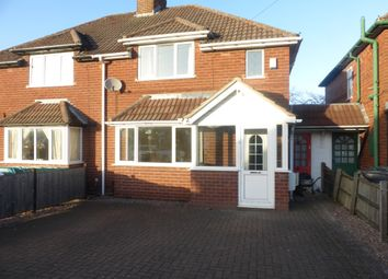 Thumbnail 3 bed semi-detached house for sale in Yew Tree Road, Shelfield, Walsall