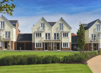 Thumbnail 4 bed semi-detached house for sale in Holborough Lakes, Manley Boulevard, Snodland, Kent