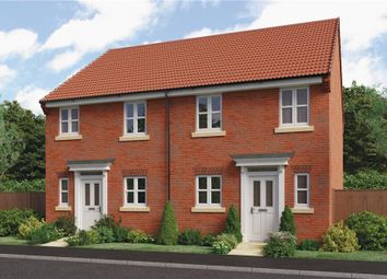 "Thumbnail 3 bed semi-detached house for sale in ""Beeley"" at Barnards Way, Kibworth Harcourt, Leicester"