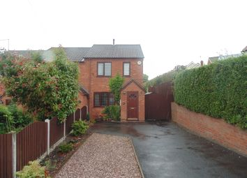 Thumbnail 2 bedroom mews house for sale in Bank Road, Gornal, Dudley