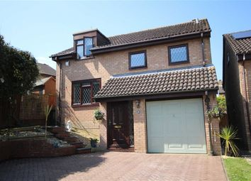 Thumbnail 4 bed detached house for sale in Chervil Close, Woodhall Park, Swindon