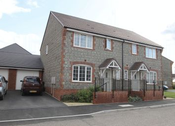 3 bed semi-detached house for sale in Knight Road, Wells BA5