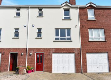 Thumbnail 4 bed town house for sale in Danesfort Park, Carryduff, Belfast