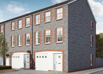 "Thumbnail 4 bedroom end terrace house for sale in ""The Elder"" at Mill Lane, Bitton, Bristol"