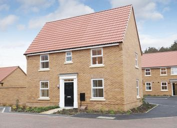 "Thumbnail 3 bed detached house for sale in ""Hadley"" at Melton Road, Queniborough, Leicester"