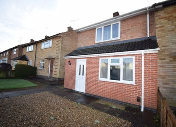 Thumbnail 3 bed end terrace house for sale in New Romney Cresent, Netherhall, Leicester