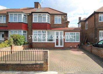 Thumbnail 4 bed semi-detached house for sale in Burnell Gardens, Stanmore
