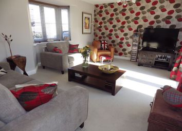 Thumbnail 4 bedroom semi-detached house to rent in Furrowfields, St. Neots