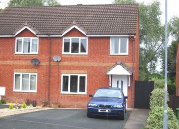 Thumbnail 3 bed semi-detached house to rent in Eric Brown Close, Hereford
