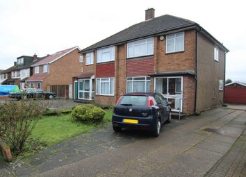 Thumbnail 3 bed semi-detached house for sale in Thorogood Way, Rainham