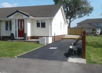 Thumbnail 3 bed semi-detached bungalow for sale in Brynglas, Penygroes, Llanelli