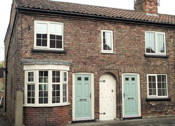 Thumbnail 2 bed terraced house to rent in Rythergate, Cawood, Selby