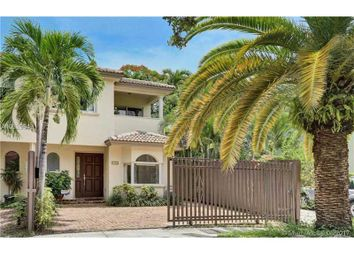 Thumbnail 3 bed town house for sale in 3126 Jackson Ave # 2, Coconut Grove, Florida, United States Of America