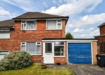 Thumbnail 3 bed semi-detached house for sale in The Crest, West Heath, Birmingham