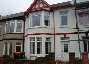 Thumbnail 3 bed terraced house to rent in Warwick Road, Newport