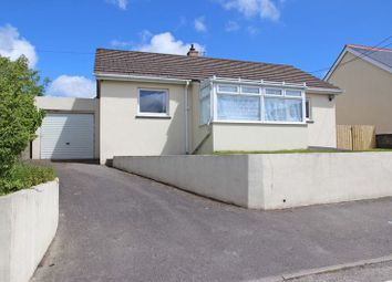 Thumbnail 2 bed detached bungalow for sale in The Drang, Indian Queens, St. Columb