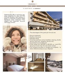Thumbnail 1 bed apartment for sale in Str. Sopla, Trentino Alto Adige -Dolomites, Italy