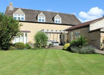 Thumbnail 4 bed detached house for sale in The Barn, Woodgate Lane, Maxey, Peterborough, Cambridgeshire