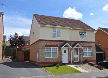 Thumbnail 2 bed semi-detached house to rent in Dove Close, Cullompton, Devon