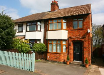 Thumbnail 4 bed semi-detached house for sale in Wheatfield Road, Bilton, Rugby