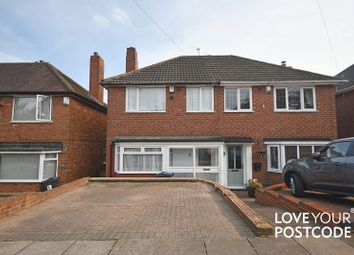 Thumbnail 3 bed semi-detached house for sale in Curbar Road, Great Barr, Birmingham