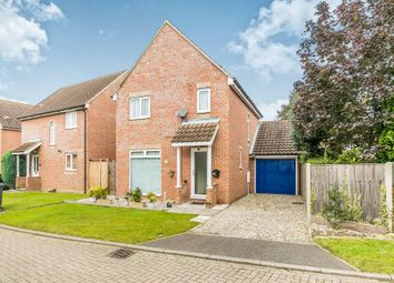 Thumbnail 3 bedroom detached house for sale in Lynns Hall Close, Great Waldingfield, Sudbury