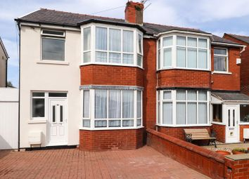 Thumbnail 3 bed semi-detached house for sale in Colchester Road, Blackpool