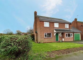 Thumbnail 4 bed detached house for sale in Woolston Drive, Hough, Crewe