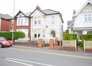 Thumbnail 5 bed semi-detached house for sale in Lodge Road, Caerleon, Newport