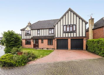 Thumbnail 5 bedroom detached house for sale in Burne-Jones Drive, College Town, Sandhurst, Berkshire