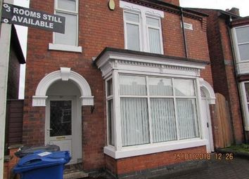 Thumbnail Room to rent in Belvedere Road, Burton-On-Trent