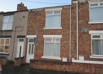 Thumbnail 2 bed terraced house for sale in Gladstone Terrace, Coxhoe, County Durham.