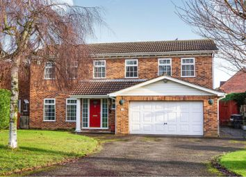 Thumbnail 5 bed detached house for sale in Manor Drive, Sudbrooke