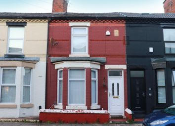 Thumbnail 2 bed terraced house for sale in Jamieson Road, Wavertree, Liverpool