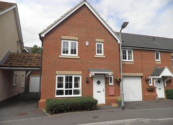 Thumbnail 4 bed link-detached house to rent in Rosseter Close, Chelmsford