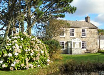 Thumbnail 4 bed detached house for sale in Trewellard Hill, Pendeen, Penzance, Cornwall.