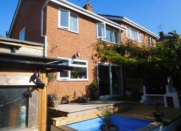 Thumbnail 3 bed semi-detached house for sale in Holland Road, Exmouth