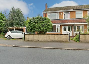 Thumbnail 3 bedroom semi-detached house for sale in Creyke Close, Cottingham