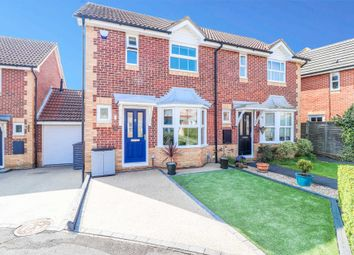 Thumbnail 2 bed semi-detached house for sale in Augustine Walk, Warfield, Bracknell